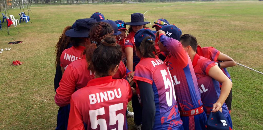 Nepal's women's cricket team registers its biggest win on run difference