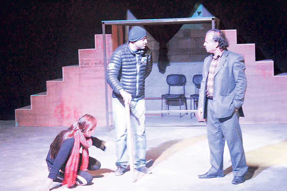 Pokhara Theater launched with 'Sirumairani'