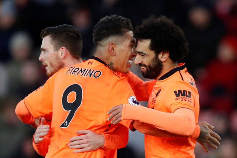 Liverpool canter to 2-0 victory at Southampton