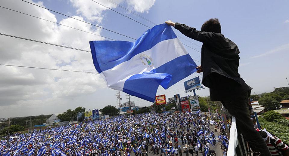 Ortega slams US for financing violence in Nicaragua, destabilizing the country