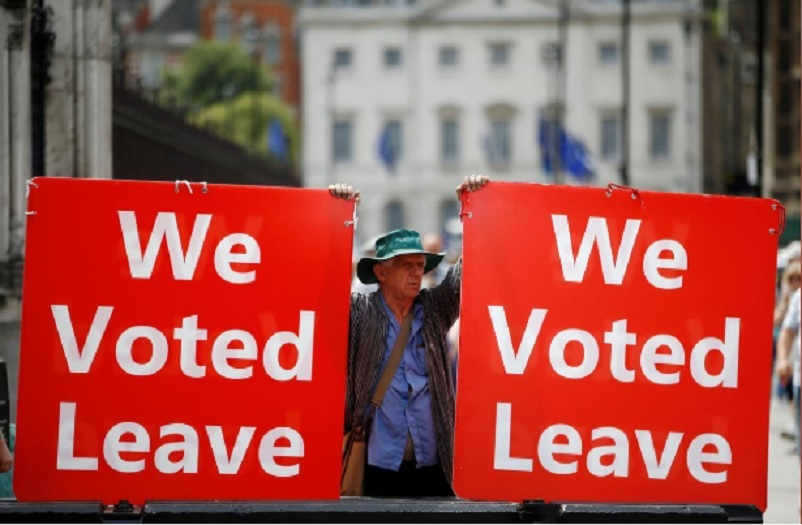 Majority of Britons support 'Brexit by any means': poll