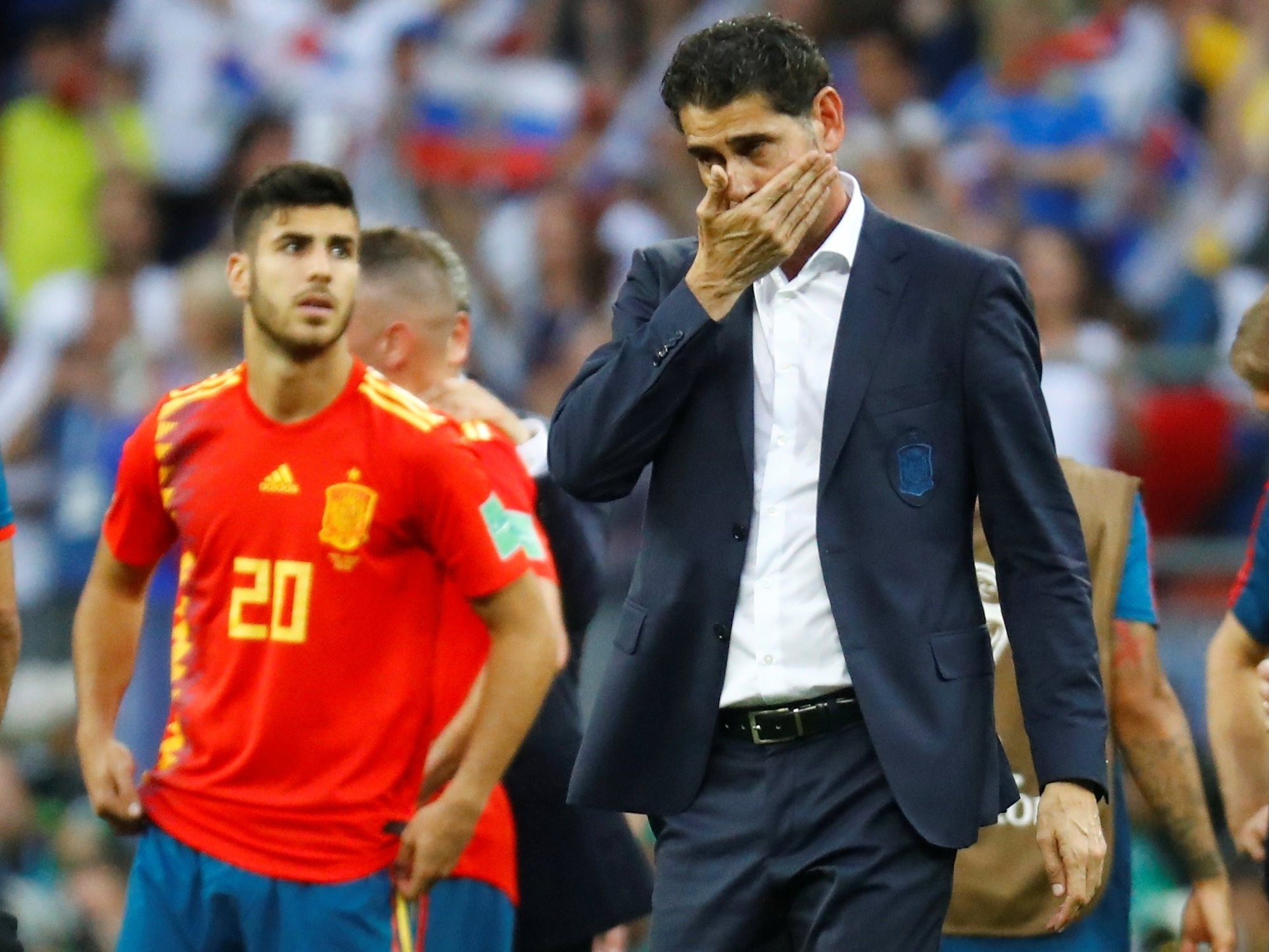 Hierro cuts ties with Spanish federation after World Cup exit