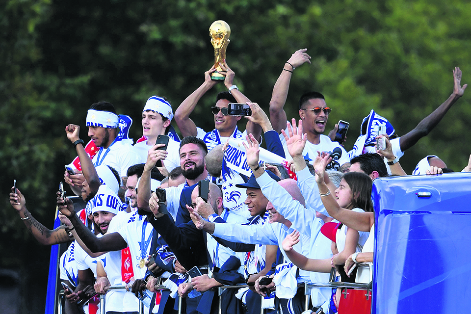Journey to second World Cup title:  A new dynasty for young French