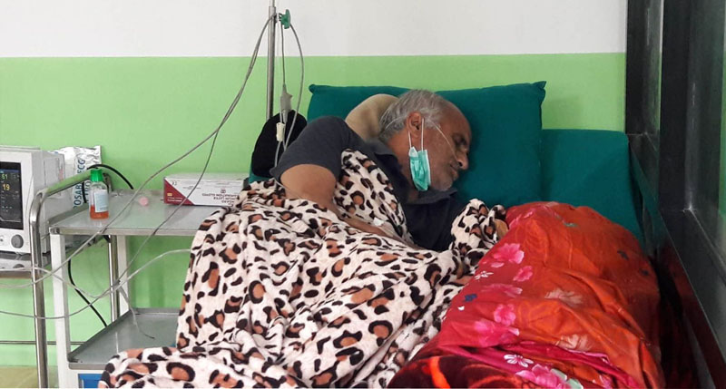 Dr KC losing consciousness