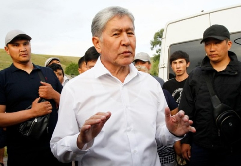 Kyrgyz ex-president charged with murder, unrest -prosecutors cited by Interfax