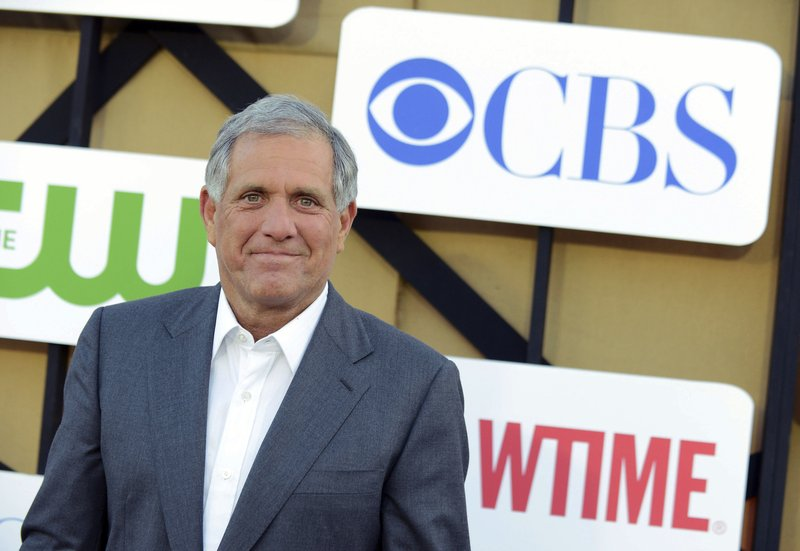 CBS looks into misconduct claims amid report on CEO Moonves