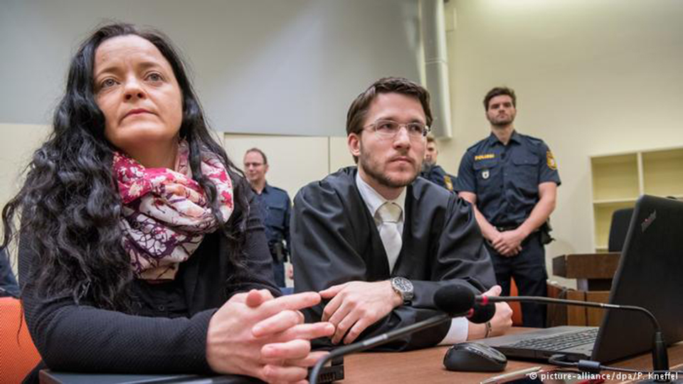 Neo-Nazi murder gang member jailed for life in Germany