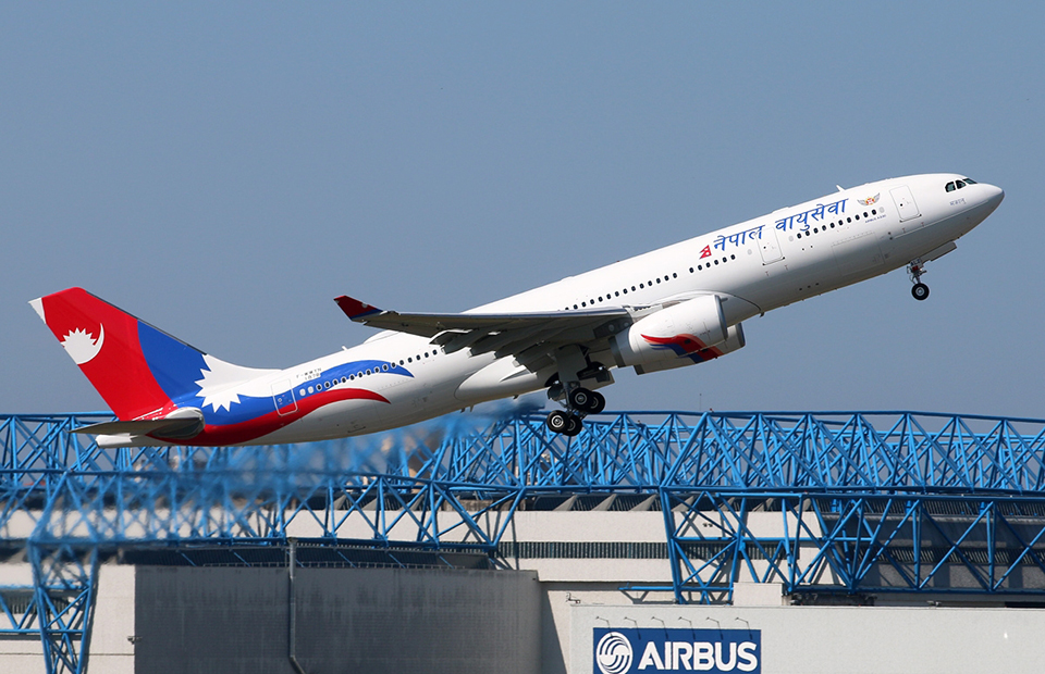 NAC's second wide-body jet arriving today
