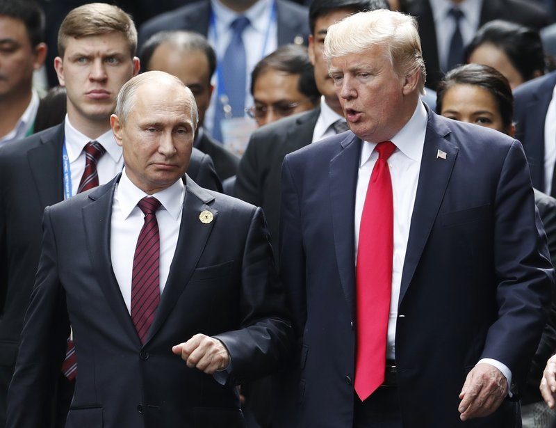Putin arrives to go 1-on-1 with Trump at Helsinki summit
