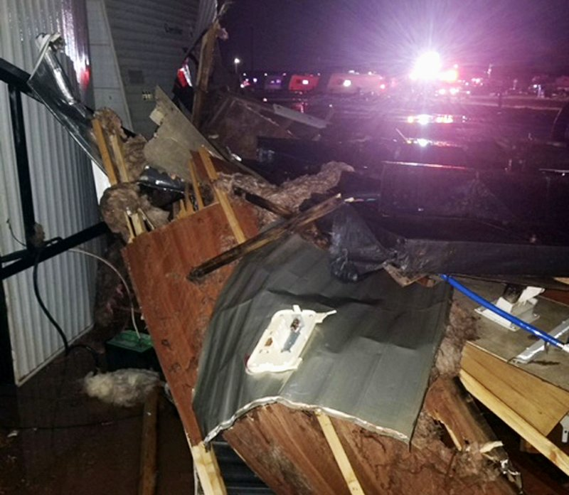 Baby killed, dozens hurt when tornado hits North Dakota city
