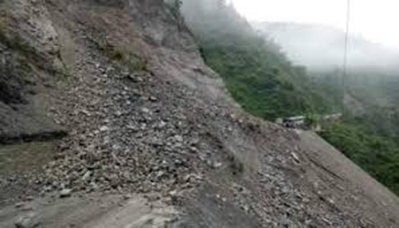 Narayangadh-Mugling road obstructed