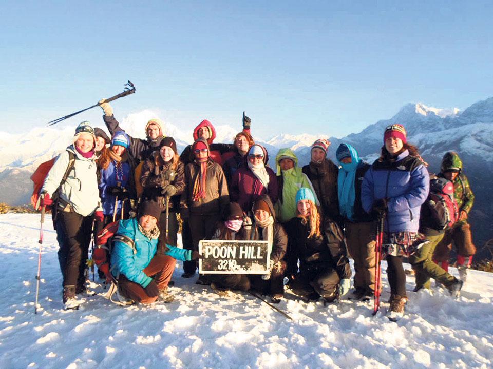 Spotlight on female trekking guides