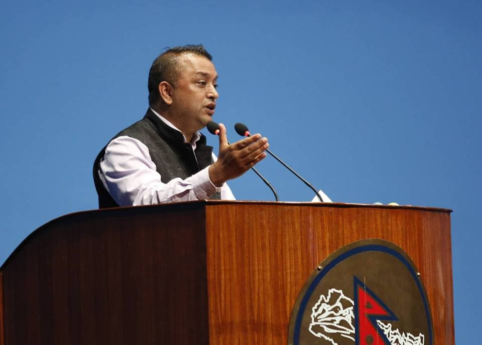 """Will support the government to approve the Medical Education Ordinance,"" Gagan Thapa"
