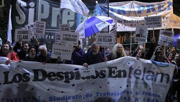 '73,800 Argentine Jobs Lost Since 2015 Under Macri': Report