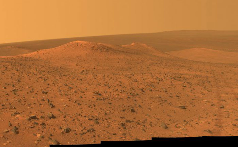 Mars is 1000X drier than the driest places on Earth