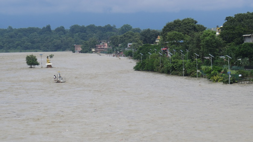 Residents draw govt attention as Gorkha Brewery fills Narayani River with toxic chemicals
