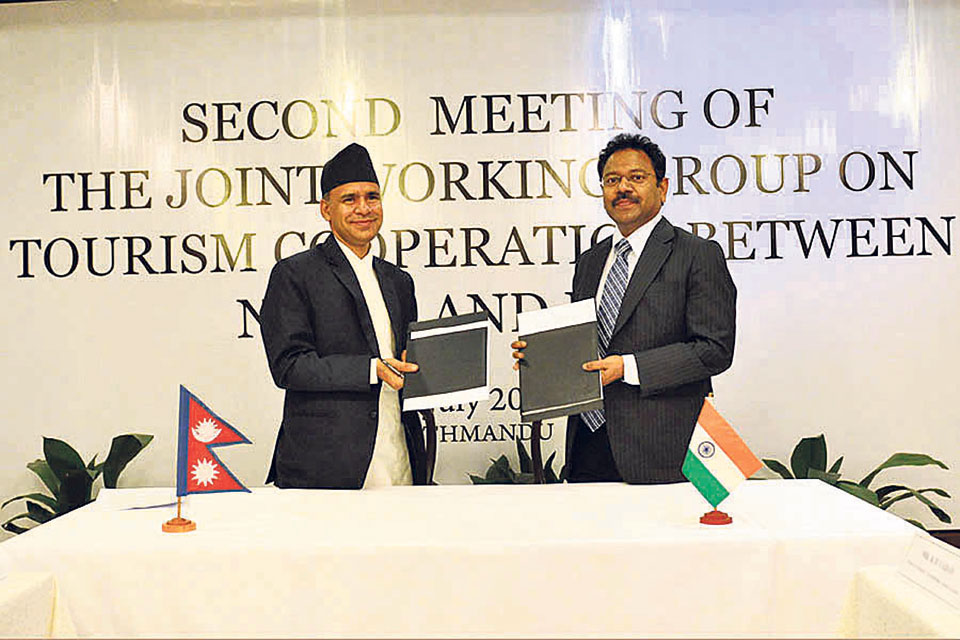 Nepal, India agree to form joint tourism forum