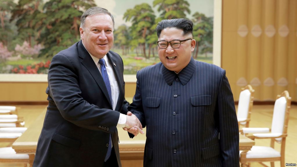 Pompeo arrives in North Korea for talks on nuclear sites