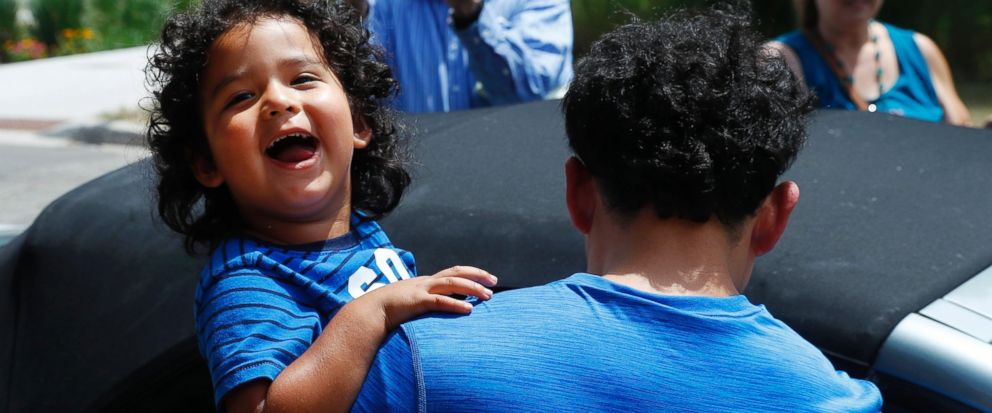 More than 300 older children split at border are reunited