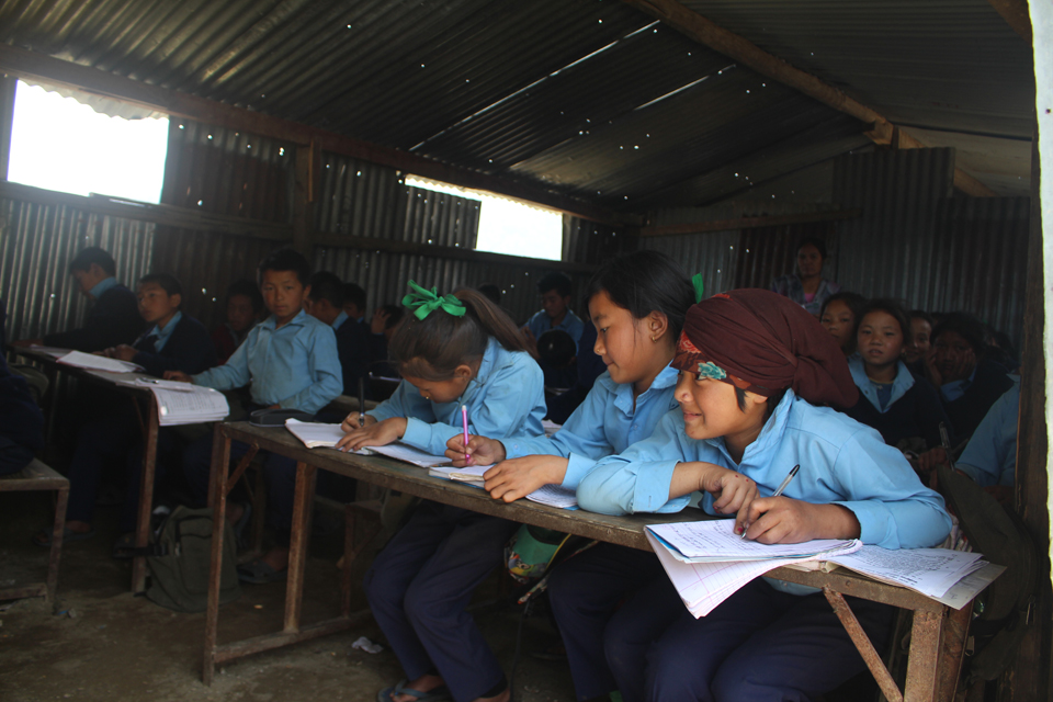 976 classrooms await reconstruction in Gorkha