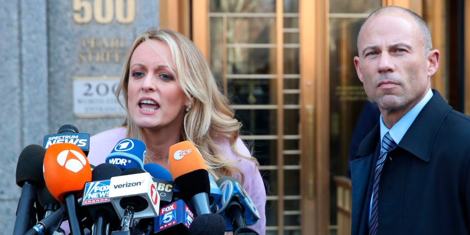 Stormy Daniels' husband has filed for divorce, her lawyer announced