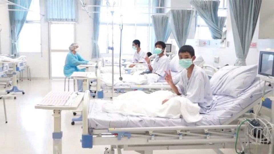 Thailand's cave boys to be discharged from hospital next week
