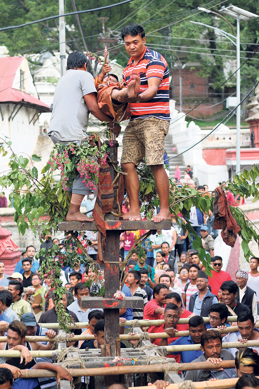 Trishul Jatra: A shield against child infirmity
