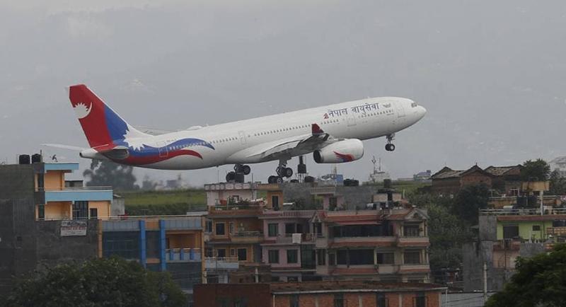 NAC's second wide-body jet lands in Kathmandu