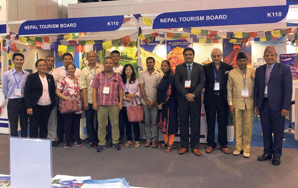Nepal promotes VNY 2020 in Hong Kong travel fair