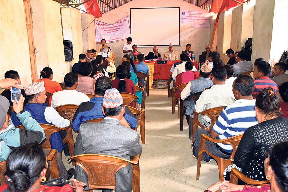 Kavre announces plans to expedite justice delivery