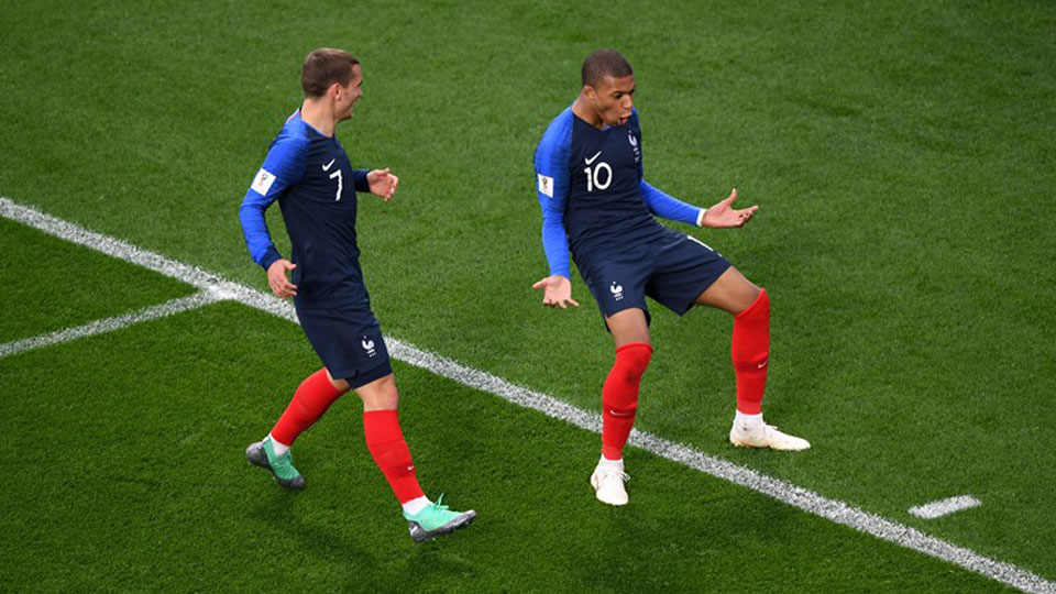 Mbappe seals the victory for France against Peru