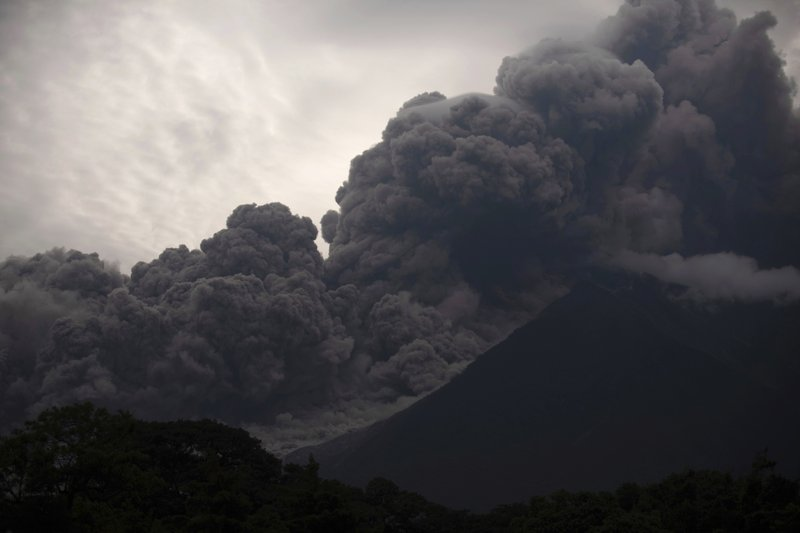Guatemala volcanic eruption sends lava into homes, kills 25