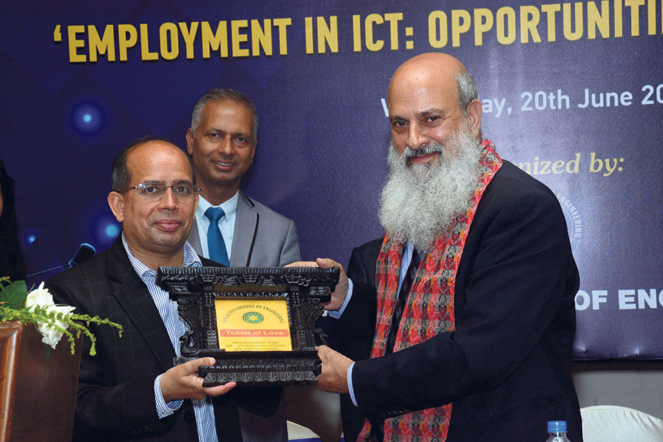 A workshop on 'Employment in ICT: Opportunities and Challenges'