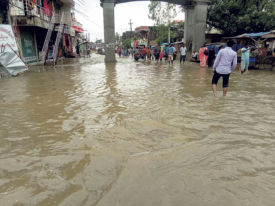 Dozens of Rautahat villages at high risk of floods