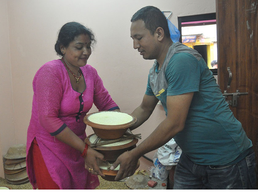 IN PICTURES: Making the King of Curd: Juju Dhau
