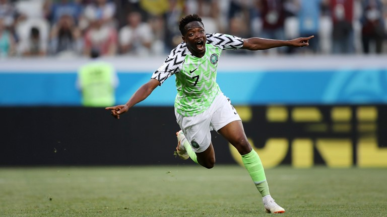 Nigeria reboot their World Cup with 2-0 win over Iceland