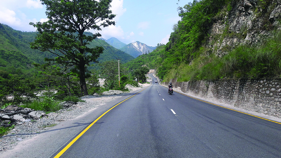 Narayanghat-Muglin road offers smooth ride once again