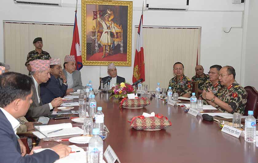 PM expresses concern over Kathmandu-Tarai-Madhes expressway progress