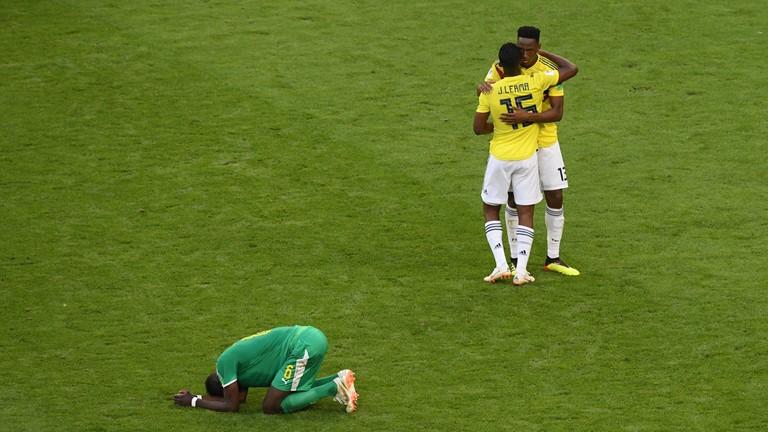 Colombia through as Senegal suffer yellow card heartache