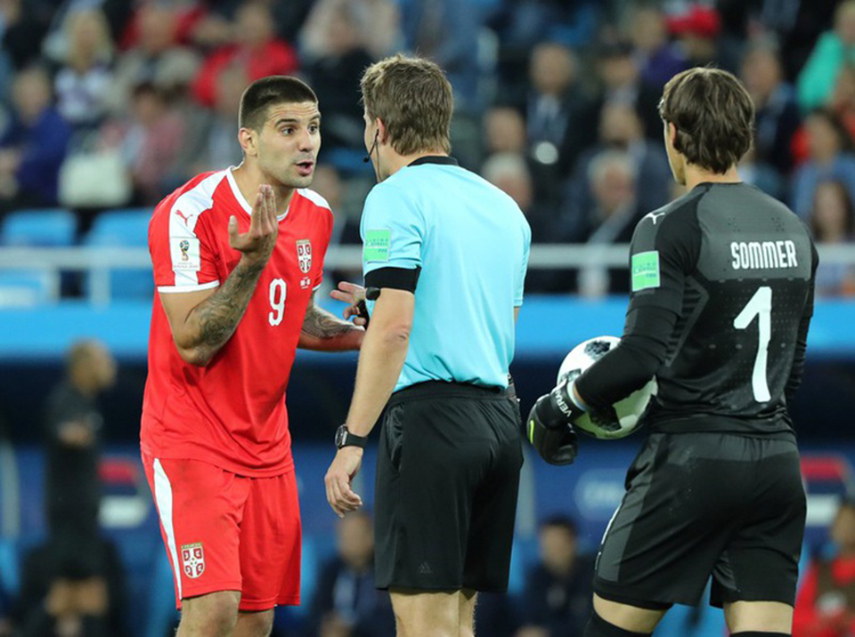 VAR in the firing line after Serbia denied penalty
