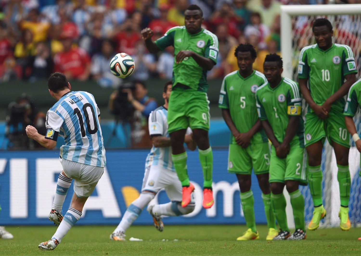 We love Lionel Messi but we're not here to watch him play, says Nigeria coach