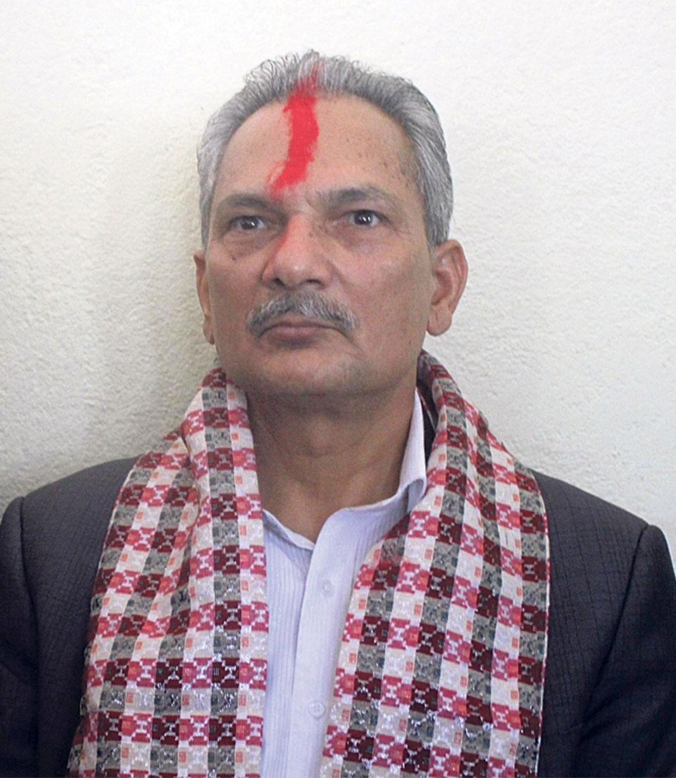 Bhattarai slams govt for neglecting development projects in Gorkha