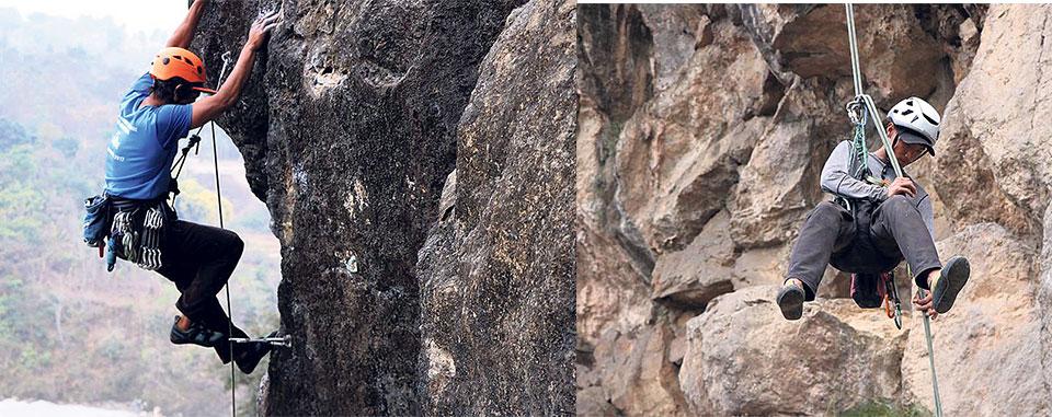 Bliss atop: A boulder