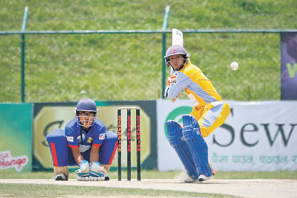 Gauchan, bowlers sweep aside Province 6 for record-win, Army seals semifinal spot