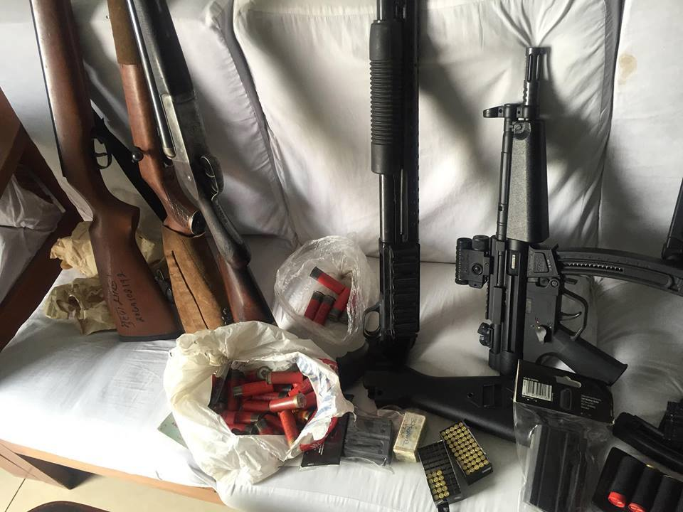 Police confiscate guns, scrap license of Mahesh Bdr Singh