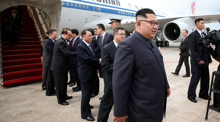 North Korea's Kim lands in Singapore, on cusp of making history with Trump summit