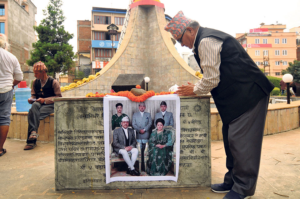 King Birendra remains in people's memory