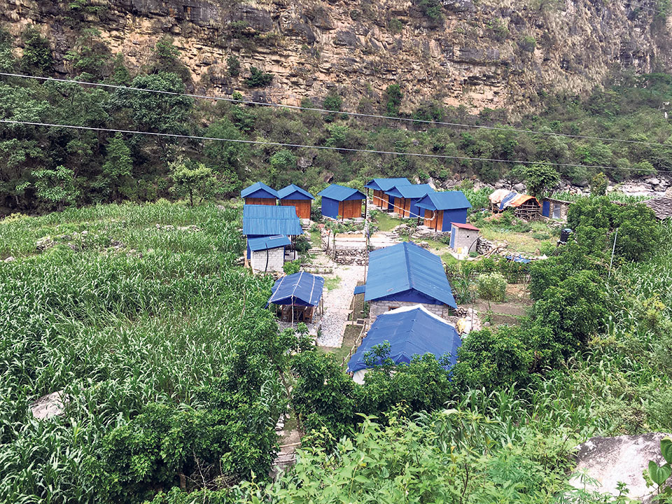 Off-season closes hotels in Manasalu area