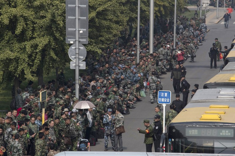 Large army veteran protests in China pose challenge for Xi
