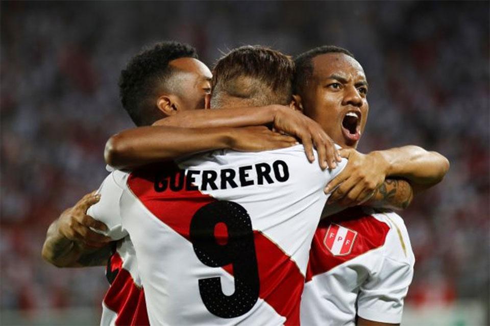 Guerrero scores twice on Peru comeback after doping reprieve
